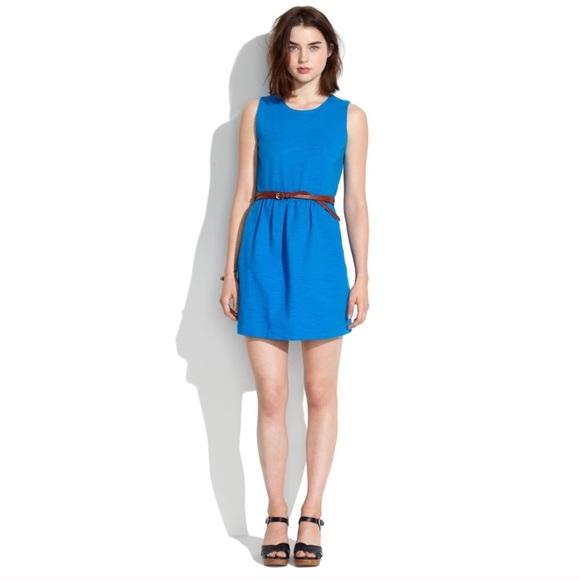 Madewell Dresses & Skirts - Madewell Blue Sleeveless Dress